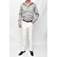 Jeans trousars white