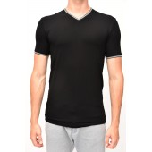 T-SHIRT WITH SHORT SLEEVES SUPER V with a port