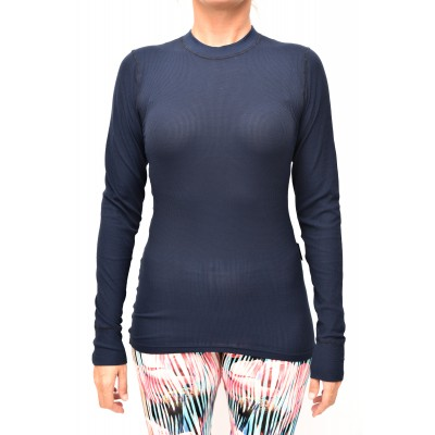 Thermo shirt long sleeve blue