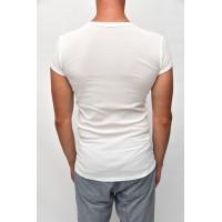 Thermo shirt short sleeve white