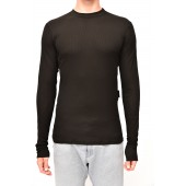 Thermo shirt long sleeve black