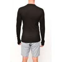 Thermo shirt long sleeve black