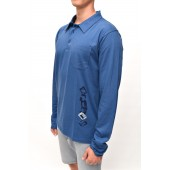 POLO  long sleeve Navy S