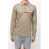 POLO long sleeve Oliva S